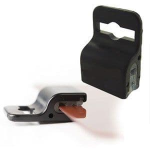 Black card grippers - 100 Pack
